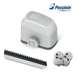 Kit motor para portão deslizante fast gatter 3030 60hz 1.4m - peccinin