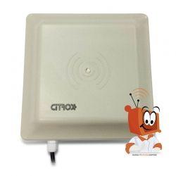 Leitor RFID Antena Veicular Leitura de Tag 900 MHz Para Controle de Acesso - Citrox