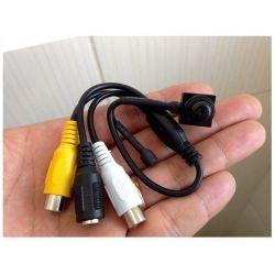 Micro Câmera Camuflada Parafuso (650TVL | 1/4 | 3.6mm)