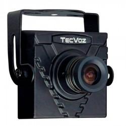 Mini Câmera Tecvoz (420TVL | 1/3 | 3.6mm)
