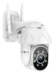 Mini Speed Dome IP Inova Auto-Tracking Full HD CAM-5707 (2.0MP | 1080p | Wi-Fi | IP66 | Plást)