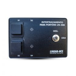 Módulo Intertravamento Linear LN-308 c/ 2 Botões