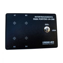 Módulo Intertravamento Linear LN-308 s/ Botões