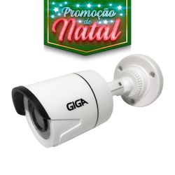 NATAL CFTV CLUBE - Câmera Giga GS0014 Bullet Open HD Plus IR 20M UTC DWDR (1.0MP | 720p | 2.6mm | Plast)