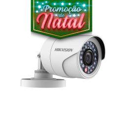NATAL CFTV CLUBE - Câmera Hikvision Bullet Flex Turbo HD (1.0MP | 720p | 2.8mm | Plast)