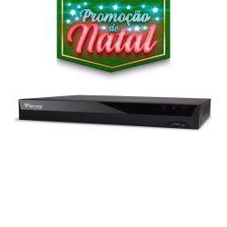 NATAL CFTV CLUBE - DVR Tecvoz 04 Canais Flex HD Linha Inteligente TV-P5004
