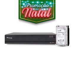 NATAL CFTV CLUBE - DVR Tecvoz 16 Canais Flex HD Alta Resolução TV-E516 Com HD 1TB