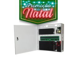 NATAL CFTV CLUBE - Rack Light Vertical Fine 16 HD Híbrido