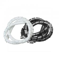 Organizador de fios e cabos espiral - 19mm
