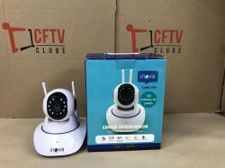 OUT0096 - Câmera Robozinha IP Sem Fio Wireless HD - Alta Definição