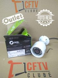 Outlet - Câmera Giga GS0016 Bullet Open HD Plus IR 30M IP66 (1.0MP | 720p | 2.6mm | Metal)