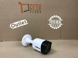 Outlet - Câmera Intelbras Bullet HD VHD 1120 B Multi HD (1.0MP | 720p | 2.6mm | Plast)