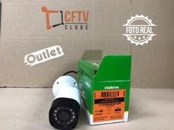 Outlet - Câmera Intelbras Bullet HD VHD 1120 B Multi HD G3 (1.0MP | 720p | 2.6mm | Plast)