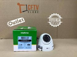 Outlet - Câmera Intelbras Dome Multi HD 3120D G4 Alta Definição (1.0MP | 720p | 2.6mm | Metal)