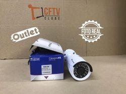 Outlet - Câmera Tecvoz Bullet Flex HD QCB-236 Full HD (2.0MP | 1080p | 3.6mm | Metal)