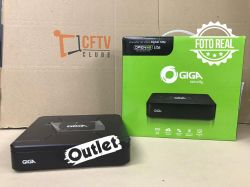Outlet - DVR Giga GS0083 08 Canais Open HD Lite 720P