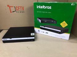 Outlet - DVR Intelbras 08 Canais Multi HD Full HD MHDX 3108 H.265