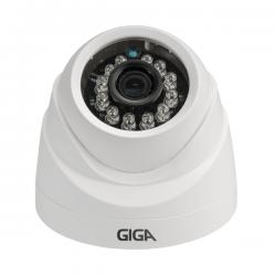 PÁSCOA CFTV CLUBE - Câmera Giga GS0026 Dome Open HD Sony Exmor IR 20M UTC DWDR (2.0MP | 1080p | 3.6mm | Plast)