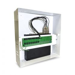 PÁSCOA CFTV CLUBE - Rack Vertical Fine c/ Placa Eletrônica 8 Canais Max Eletron