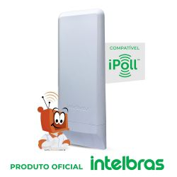 Roteador Intelbras Wireless Wom 5000I 12dbi CPE 5GHZ