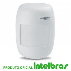 Sensor Infravermelho Passivo IVP com Fio Intelbras - 3000 CF
