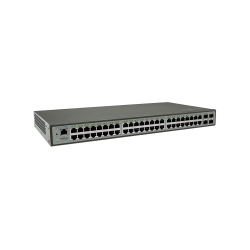 Switch Gerenciável Intelbras 48 Portas Giga 4P GBIC SG 5204 MR L2+