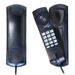 Telefone Intelbras TC 20 com Fio Preto