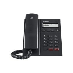 Telefone Intelbras TIP 125i IP Preto