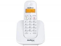 Telefone Intelbras TS 3110 sem Fio Branco