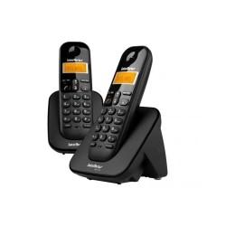 Telefone Intelbras TS 3112 Sem Fio Preto