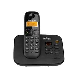 Telefone Intelbras TS 3130 sem Fio Preto