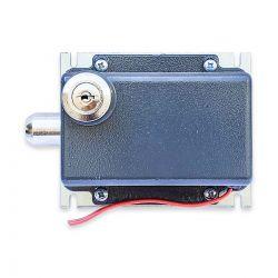 Trava Eletromagnética AGL 220V Cinza c/ Módulo