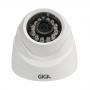 Câmera Giga GS0011 Dome Open HD 720P Plus IR 20M UTC DWDR (1.0MP   720p   2.6mm   Plast)