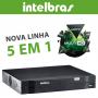 DVR Intelbras 04 Canais Multi HD Alta Resolução MHDX 1004