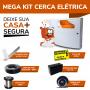 Kit Cerca Elétrica Completo para 20 Metros com Quantidade Recomendada de Hastes