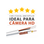 Super cabo para câmeras hd - 4mm + bipolar reforçado