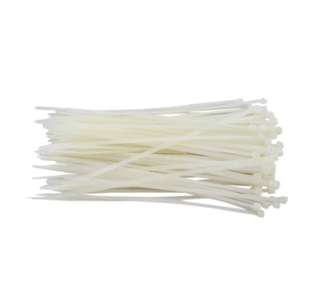 Abraçadeiras de Nylon para Lacre 3,0mm x 100mm - Branca  - CFTV Clube | Brasil