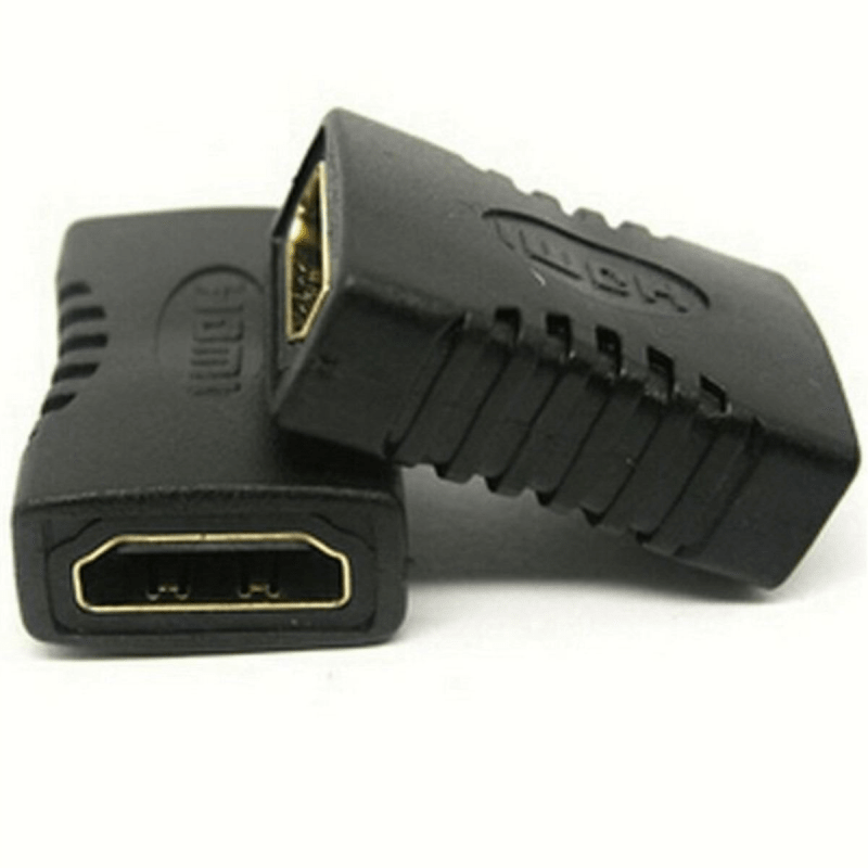 Adaptador Emenda HDMI Fêmea x HDMI Fêmea  - CFTV Clube | Brasil