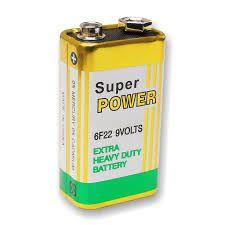 Bateria 9v Security Parts  - CFTV Clube | Brasil