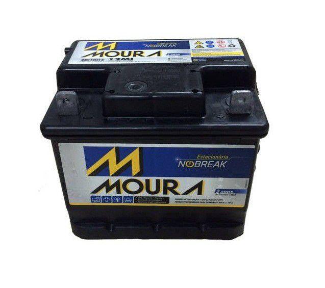 Bateria Moura Estacionária 12V 45A  - CFTV Clube | Brasil
