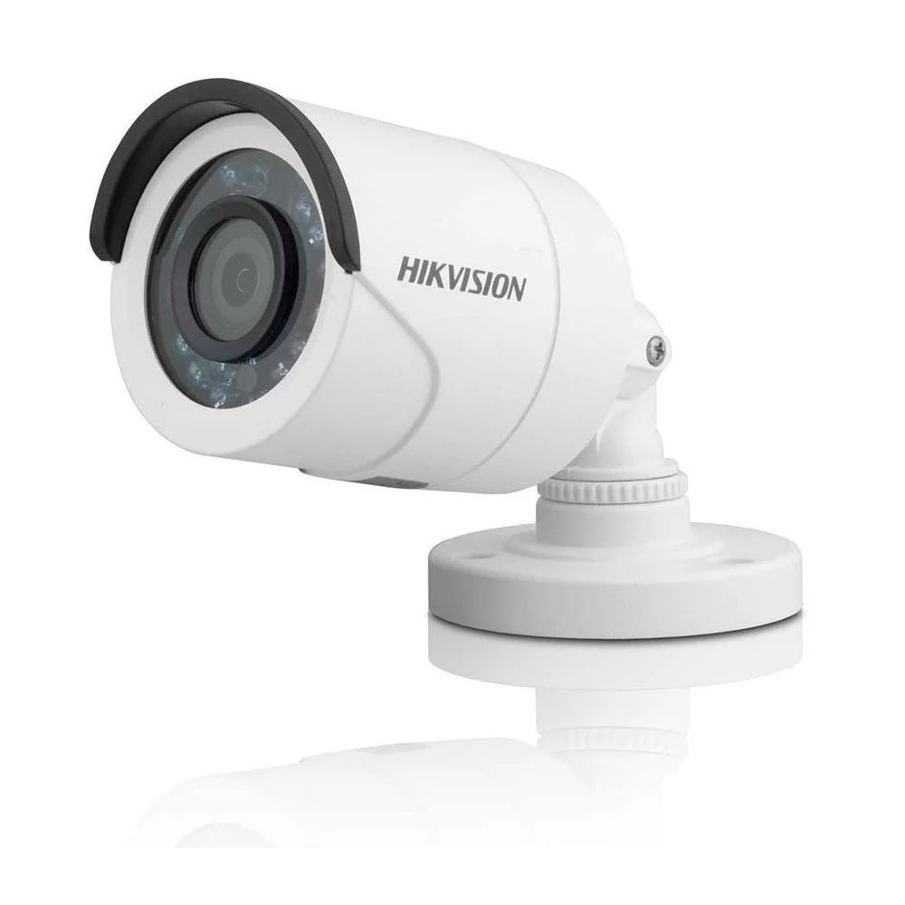 Cyber Black - Câmera Hikvision Bullet DS-2CE1AC0T-IRP (1.0MP | 720p | 2.8mm | Plas)  - CFTV Clube | Brasil