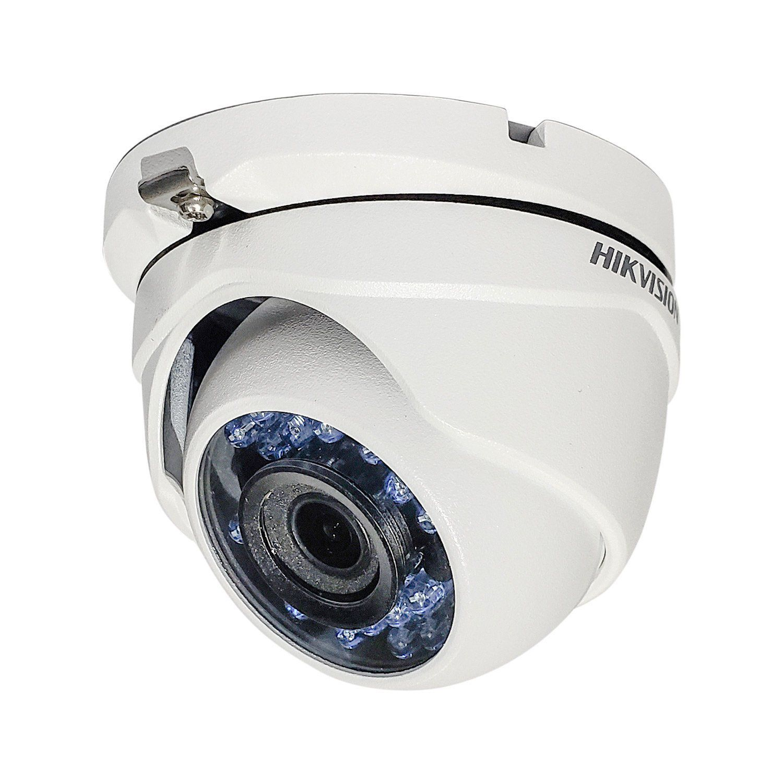 Cyber Black - Câmera Hikvision Dome Flex DS-2CE56D0T-IRMF (2.0MP | 1080p | 2.8mm | Metal)  - CFTV Clube | Brasil