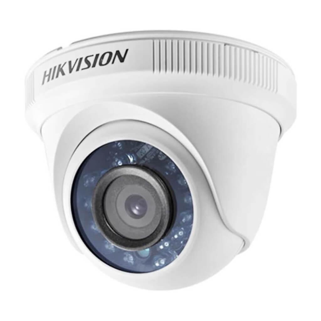 Câmera Hikvision Dome Flex DS-2CE56D0T-IRPF (2.0MP | 1080p | 2.8mm | Plast)  - CFTV Clube | Brasil
