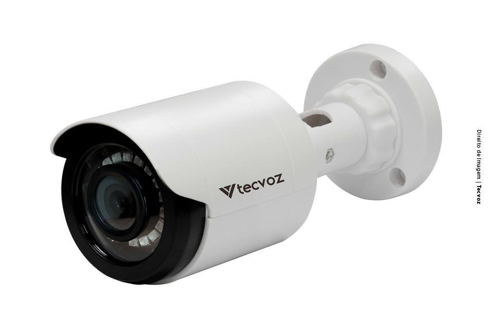 Câmera Tecvoz Bullet Flex HD 4x1 CB128P (1.0MP | 720p | 2.8mm | Plast)  - CFTV Clube | Brasil