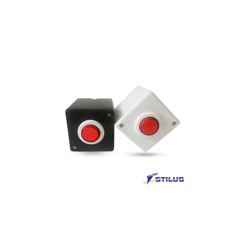 Botão para Acionamento Stilus - NA/NF  - CFTV Clube | Brasil