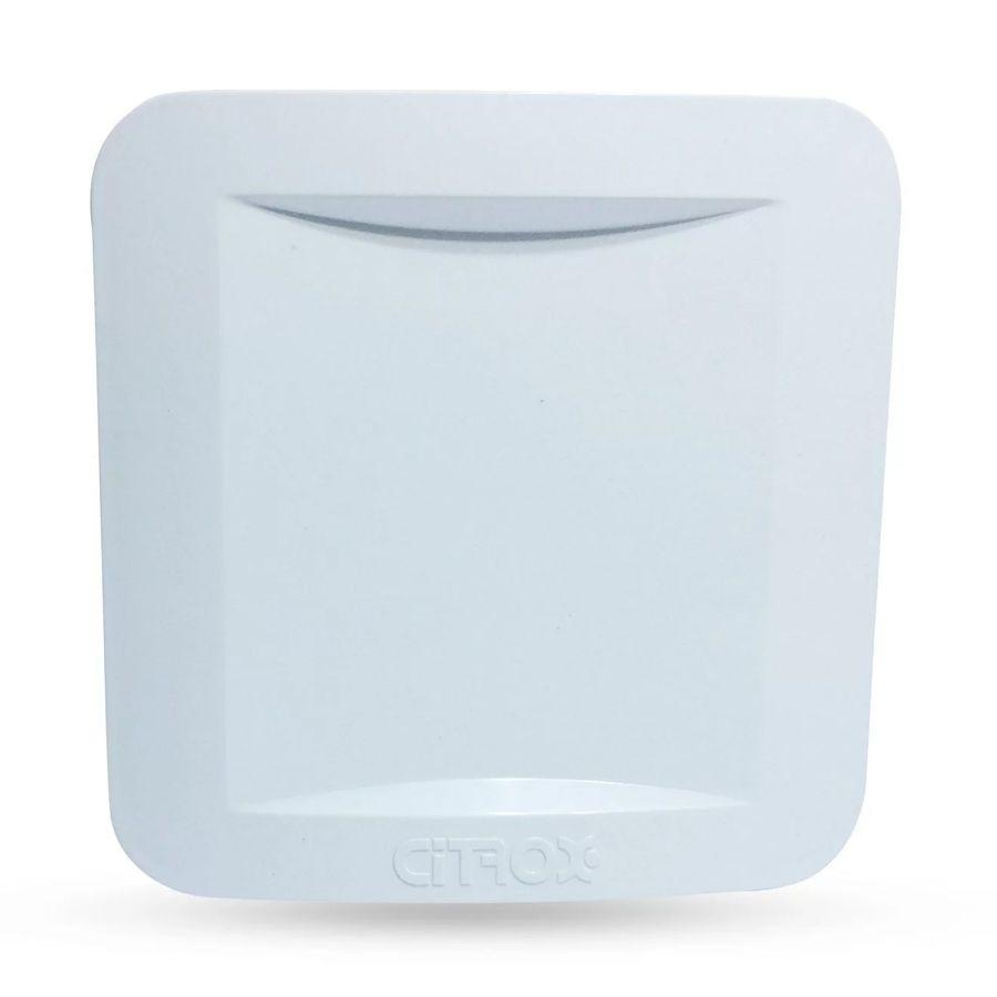 Caixa de Acoplamento Citrox CX-4905 11x11cm p/ Conectores, Balun e Fonte - Unitário  - CFTV Clube | Brasil