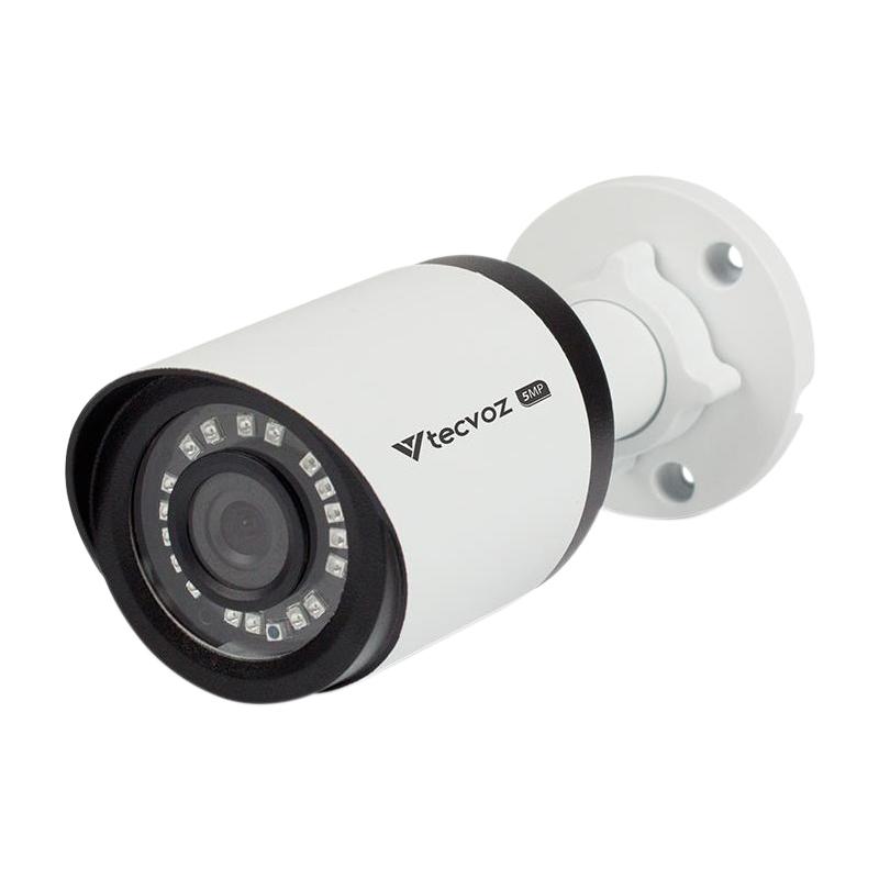Câmera Tecvoz Bullet Flex HD QCB-536 Hyper HD (5.0MP | 2048p | 3.6mm | Metal)  - CFTV Clube | Brasil