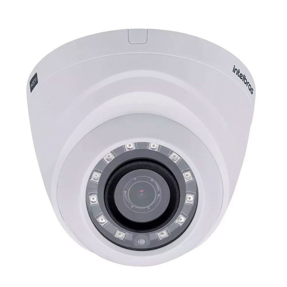 Câmera Intelbras Dome Multi HD 1010D G4 Alta Definição (1.0MP | 720p | 3.6mm | Plast)  - CFTV Clube | Brasil