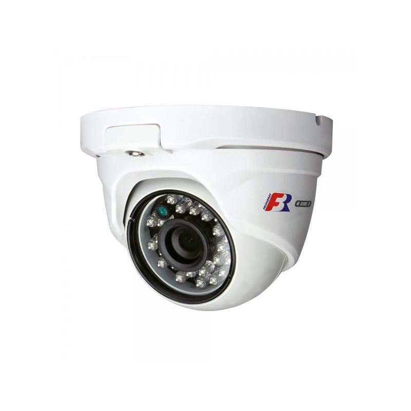 Câmera FBR Focusbras Dome Flex HD FS-MDF2M Full HD (2.0MP | 1080p | 2.8mm | Metal)  - CFTV Clube | Brasil
