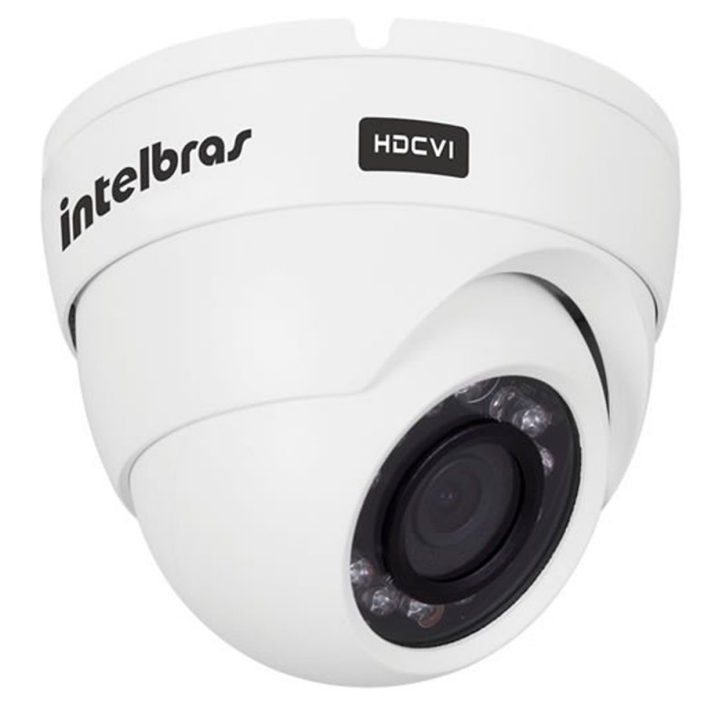 Câmera dome intelbras full hd 1220d g3 multi hd